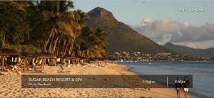 sugar beach mauritius packages